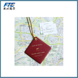 Customer PU Travel Luggage Tag Hang Tag pictures & photos
