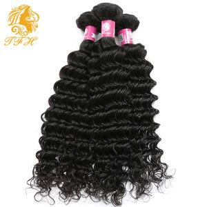 Top Brazilian Virgin Hair Deep Wave 3 Bundles 8A Brazilian Curly Hair Curly Weave Human Hair Extensions Deep Curly Hair Bundles pictures & photos