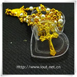 Heart Plastic Packing Box, Rosary Box, Religious Rosaries (IO-p027) pictures & photos