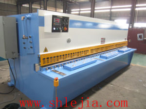 Hydraulic Nc Control Swing Beam Shearing Machine pictures & photos