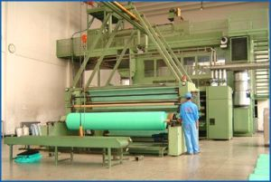 PP Spunbonded Non Woven Fabric Making Line (SMS-1600) pictures & photos