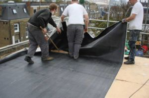 EPDM Coiled Rubber Waterproof Membrane pictures & photos