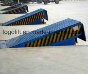 8t Electric Wharf Hydraulic Dock Leveler pictures & photos
