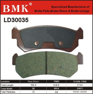 Adanced Quality Brake Pad (LD30035) pictures & photos