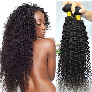 7A Grade Unprocessed Natural Black Brazilian Virgin Human Hair Extension pictures & photos