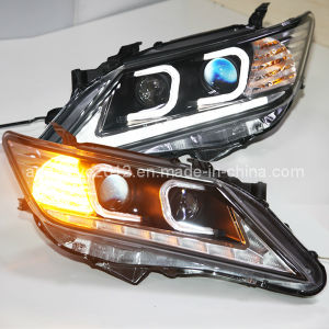 C Type Angel Eyes Camry LED Head Light TLZV2