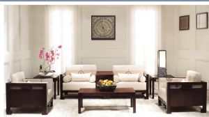 Hotel Living Room Sofa/Hotel Furniture/Hotel Wooden and Morden Sofa/Hospitality Sofa (GL-001) pictures & photos