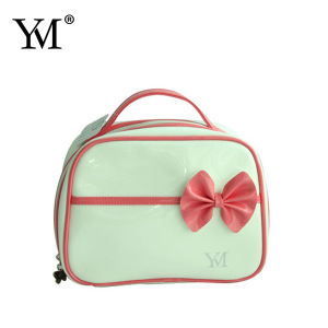 2015 Fashion Ladies Cute Bowknow Cosmetic Bag pictures & photos