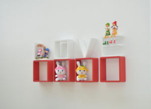 Wooden Wall Shelf for Home Decoration (LL-ZS1001)