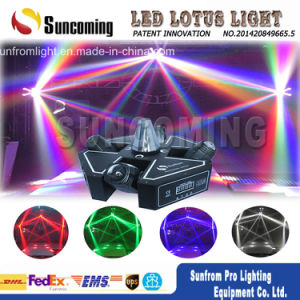 Night Club Unlimited Rolling 4head Scan LED Moving Head Lights pictures & photos