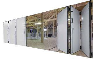 Heavy Industrial Sliding Door, Galvanized Steel Sheet, PU Foam pictures & photos