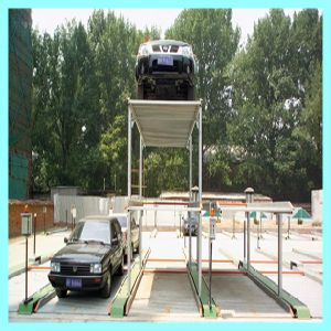 4 Post Underground Car Lift for Sale pictures & photos