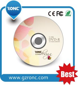 2017 Ronc High Quality Blank DVD-R with OEM Printing pictures & photos