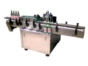 Fully-Automatically Straight-Line Glue Labeling Machine pictures & photos