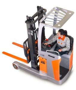 Zowell Ce Hot Sale New 1.5 Ton Electric Reach Truck