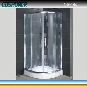 Water Repellent Tempered Shower Glass (Acid No 4) pictures & photos
