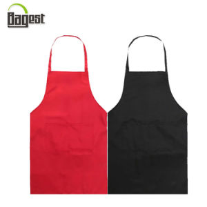 Cheap Logo Printed Promotional Kitchen Cooking Apron with Pocket pictures & photos