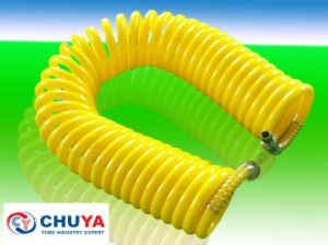 PU Coil Hose or Spiral Tubing with Fitting and Spring Guarders pictures & photos
