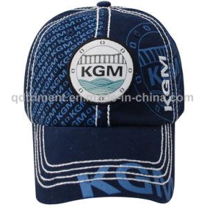 Print Thick Stitches Cotton Twill Custom Baseball Cap (TMB0936) pictures & photos