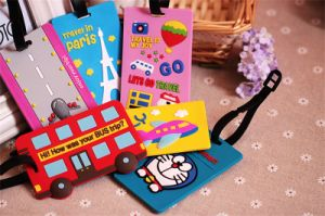 2016 Hot Sale Custom Soft PVC Luggage Tags for Sale pictures & photos