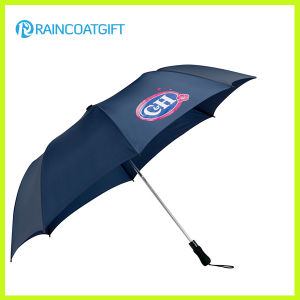 High Quality 3 Folding Rain Umbrella for Promotion pictures & photos