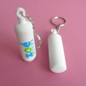 Soft PVC Oxygen Tank Keyring pictures & photos