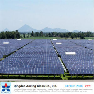 4.0mm Low Iron Patterned Solar Glass/Tempered Glass pictures & photos