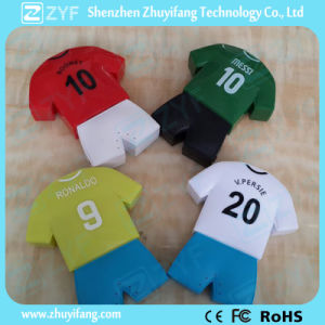 Football Outfit Uniform Jersey Shape 6000mAh Power Bank (ZYF8022) pictures & photos