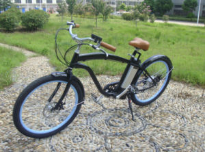 2017 Lithium Battery 26 Inch Electric Bicycle En15194 Approved E Bike Beach Cruiser for Adult pictures & photos