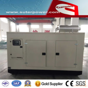125kVA/100kw Cummins Silent Electric Power Diesel Generator with ATS