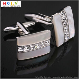 VAGULA Brass Custom Crystal Cufflinks (Hlk31471) pictures & photos