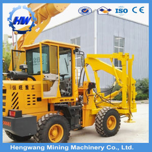 Barrier Pile Driver Piling Machine for Farm Fence Installation/ Hydraulic Barrier Pile Driver pictures & photos