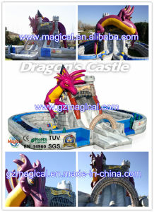 Dragon Inflatable Amusement Park with Slide (MIC-556) pictures & photos