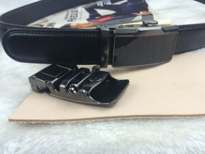 Black Leather Belts for Men (RF-160605) pictures & photos