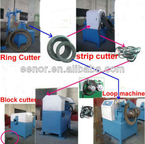 Crumb Rubber From Tire Recycling Machine pictures & photos