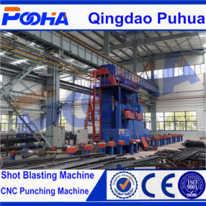 Inner Outer Wall Shot Blast Cleaning Machine with Abrasive Recovery System/Shot Blasting Machine pictures & photos