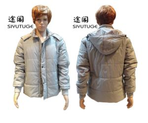 Men Fashion Hoody Winter Demountable Sleeve Jacket (SY-1258) pictures & photos