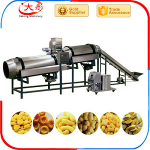Industrial Corn Puffed Expanded Snacks Food Making Machine pictures & photos