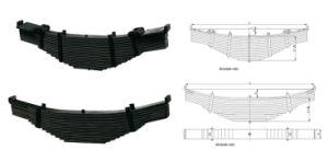 Heavy Duty Truck Trailer Leaf Spring pictures & photos