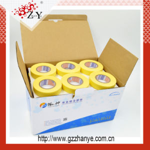 Crepe Paper Rubber Glue Heat Resistant Masking Tape pictures & photos