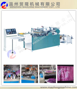 Hot Sealing and Cutting Flower Bag Making Machine