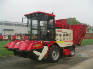 Sweet Corn Harvester with Picker and Peeling Fucntion pictures & photos