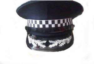 Hand Embroidery Cap Police Military Hats Peaked Cap pictures & photos