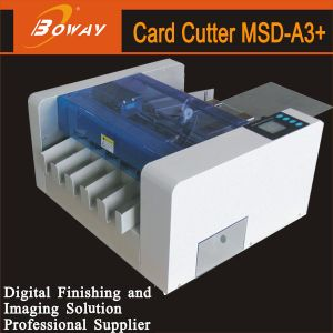 Boway 100PCS/Min Namecard Electric Full Automatic A3+ Business Name Card Cutter pictures & photos