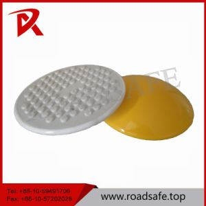 White Yellow Cat Eye Reflective Ceramic Road Stud pictures & photos