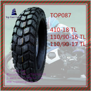 410-18 110/90-16 110/90-17 High Quality, Tubeless 6pr Nylon Motorcycle Tyre pictures & photos