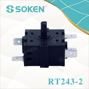 5 Position Rotary Switch with 16A 250V (RT243-2) pictures & photos