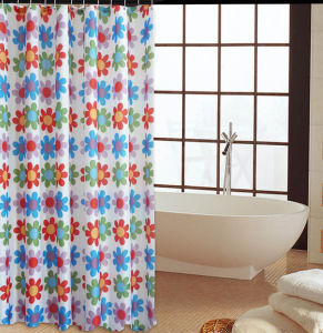 Fashion Shower Curtain 100%Poly Waterproof Shower Curtain (JY-546) pictures & photos