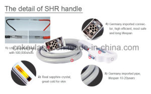 Double Handles 3000W Hair Removal IPL Machine pictures & photos