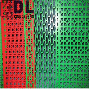 PVC Coated Perforated Metal Sheet pictures & photos